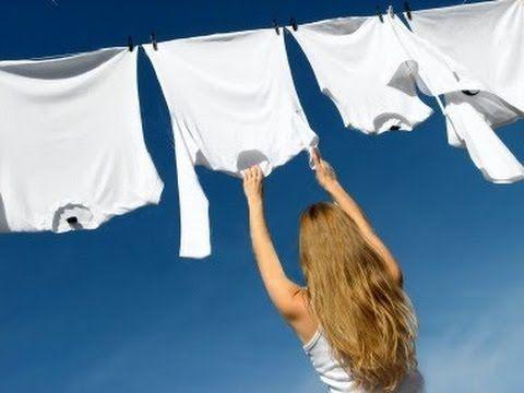 como blanquear ropa blanca amarillenta