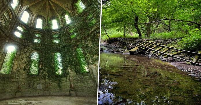 sitios abandonados fascinantes